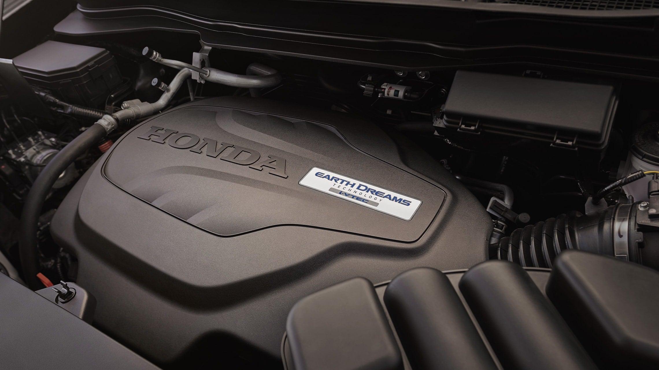 Motor V-6 i-VTEC® de 280hp en la Honda Passport Elite2019.